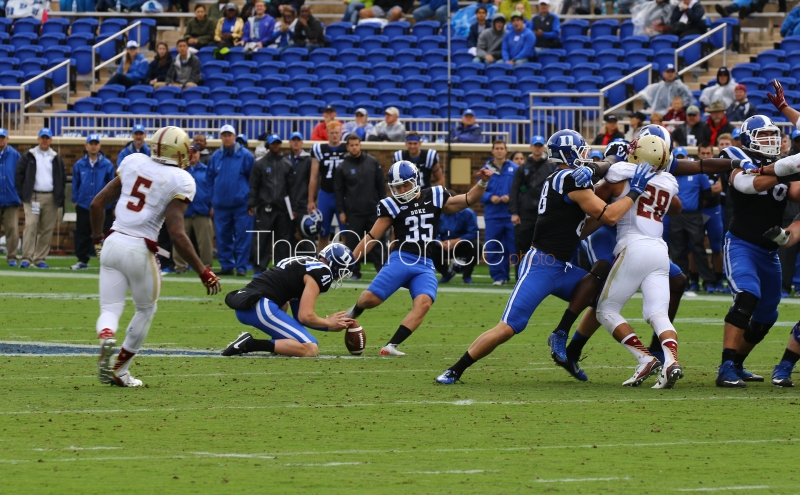 Extra Point: Duke football vs Boston College